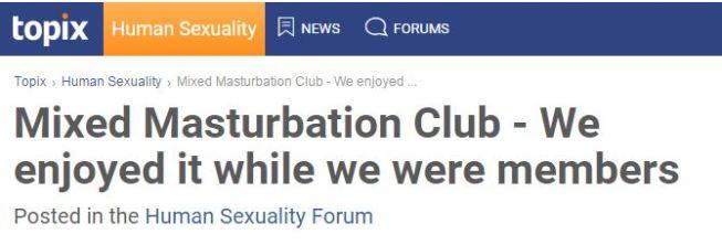 masturbationclubs