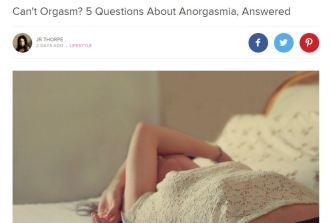 anorgasmia
