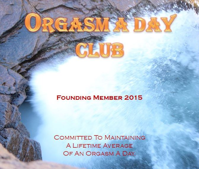 """Orgasm A Day Club"" To Be Formed For ""National Orgasm Day"" 2015."