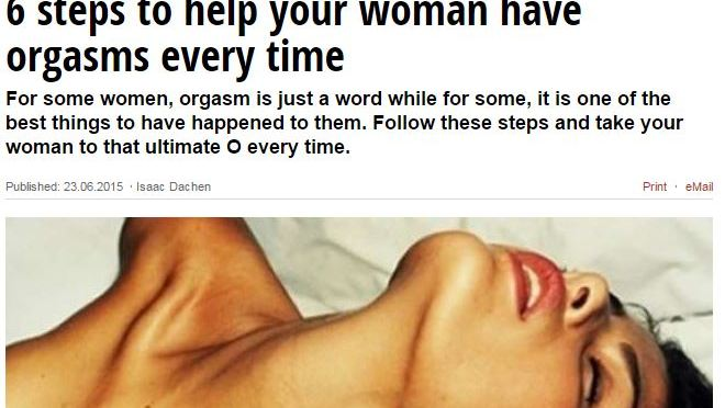 6 Steps For MEN For Ensuring That Women Have An Orgasm Each & Every Time